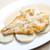 fried halibut with sweet potatoes and lemon sauce stock photo © phbcz