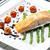 鮭 · 野菜 · 調理 · ランチ - ストックフォト © phbcz