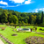 garden of palace in kamenice nad lipou czech republic stock photo © phbcz