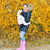 Kid · девочек · природы · обнять · дерево · Открытый - Сток-фото © phbcz