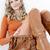mulher · elegante · marrom · botas · bolsa - foto stock © phbcz