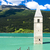 alpes · Italie · ville · vallée · hiver · ciel - photo stock © phbcz