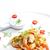 a · la · parrilla · salsa · ajo · chile · comida - foto stock © phbcz