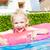 девочку · резиновые · кольца · Бассейн · воды · девушки - Сток-фото © phbcz