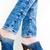 detail · vrouw · denim · zomerschoenen · vrouwen - stockfoto © phbcz