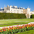 lednice palace with garden czech republic stock photo © phbcz
