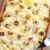 spek · gebakken · kaas · vork · aardappel - stockfoto © phbcz