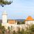 kasteel · Tsjechische · Republiek · gebouw · schip · rivier · architectuur - stockfoto © phbcz