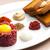 vesepecsenye · steak · kenyér · hús · pirítós · étel - stock fotó © phbcz