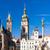 large square hradec kralove czech republic stock photo © phbcz