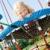 dziewczynka · boisko · dziewczyna · dziecko · lata · relaks - zdjęcia stock © phbcz
