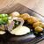 domuz · eti · ıspanak · keçi · peyniri · krem · peynir - stok fotoğraf © phbcz