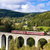 engine carriage on viaduct novina krystofovo valley czech repu stock photo © phbcz