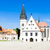 town hall square bardejov slovakia stock photo © phbcz