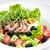 vegetal · salada · frito · pato · peito · fatias - foto stock © phbcz