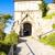 sigismunds gate castle of bratislava slovakia stock photo © phbcz
