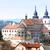 bazilika · Csehország · ház · épület · város · utazás - stock fotó © phbcz