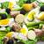 krumpli · tonhal · saláta · pesztó · öntet · étel · hal - stock fotó © phbcz