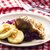 duck meat with potato dumlings and red cabbage stock photo © phbcz