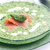 spinach soup with smoked salmon stock photo © phbcz