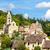 chateaufneuf burgundy france stock photo © phbcz