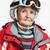 vermelho · jaqueta · esportes · branco · primavera · esportes - foto stock © photobac