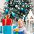 feliz · pequeno · menino · árvore · de · natal · presentes · inverno - foto stock © photobac