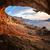 силуэта · человека · скалолазания · рок · горные · закат - Сток-фото © photobac