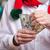 senior man with money on christmas background stock photo © photobac