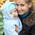 gelukkig · gezin · camera · najaar · park · familie · jeugd - stockfoto © photobac