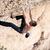 wspinaczki · twarz · rock · w · górę · komin · sekwoja - zdjęcia stock © photobac