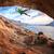 男性 · 岩 · 登山 · 屋根 · 洞窟 · 日没 - ストックフォト © photobac