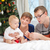 madre · bebé · Navidad · tres · sesión · próximo - foto stock © photobac