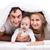 familie · bed · baby · ochtend · vrouwen · moeder - stockfoto © photobac