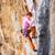 vrouwelijke · rock · gericht · volgende · verplaatsen · manier - stockfoto © photobac