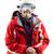 портрет · старший · женщину · лыжных · куртка · шлема - Сток-фото © photobac