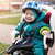 weinig · jongen · fiets · kind · zitting · gelukkig - stockfoto © photobac