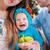 fiatal · szülők · csók · baba · idő · keresztelő - stock fotó © photobac