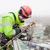 industrial · metal · construção · topo · inverno · trabalhador - foto stock © photobac