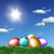 Easter eggs on green grass  stock photo © photochecker