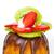 morangos · kiwi · fruto · isolado · branco - foto stock © Photocrea
