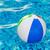kırmızı · top · yüzme · havuzu · mavi · su - stok fotoğraf © photocrea