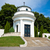 pequeno · capela · militar · cemitério · praia · grama - foto stock © Photocrea