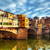ponte vecchio bridge in florence italy arno river stock photo © photocreo