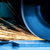 sparks from grinding machine industrial industry stock photo © photocreo