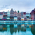 panorama of gdansk old town and motlawa river poland stock photo © photocreo