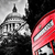 st pauls cathedral dome and red telephone booth london the uk stock photo © photocreo
