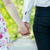 young couple in love holding hands in summer park dating stock photo © photocreo