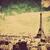 style · rétro · Paris · France · espace · texte · image - photo stock © photocreo