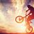 自転車 · スタント · 先頭 · ミニ · ランプ · 空 - ストックフォト © photocreo